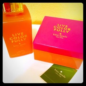 Authentic Kate Spade Body products